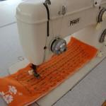 Ραπτομηχανή Pfaff zigzag γαζωτική με δθνατότητα επιλογής 50 σχεδίων κεντήματος
