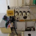 Ραπτομηχανή Yamata κοπτοράπτης τετράκλωνος