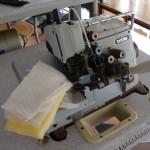Ραπτομηχανή Brother κοπτοράπτης πεντάκλωνος με αποσπόμενο σύστημα σούρας κατάλληλος