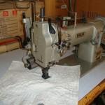 Ραπτομηχανή Pfaff full transport διβέλονη με ερπίστρια
